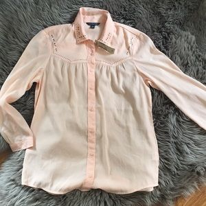 NWT American Eagle Button Down Blouse S/P